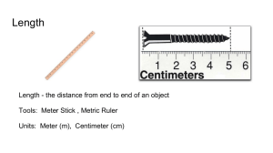 Metric Measurement / Density Powerpoint