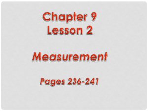 Lesson 2 Notes - Bloomsburg Area School District