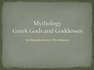 Mythology Greek Gods and Goddesses