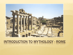 PPT - Roman Mythology
