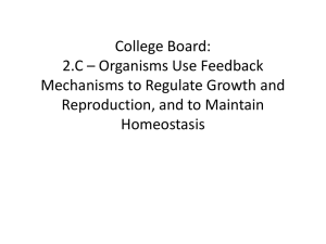 College Board: 2.B * Growth, Reproduction and Dynamic
