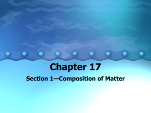 Chapter 17 - Palmer ISD