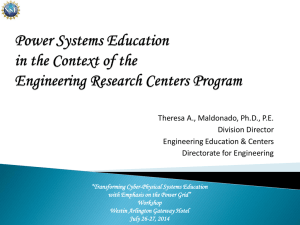 Theresa Maldonado - Power Systems Education