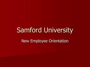 New Hire Orientation PowerPoint