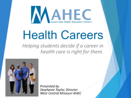 Health Careers - Project Lead the Way