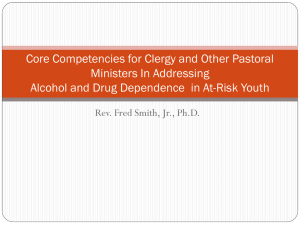 Core Competencies for Clergy and Other Pastoral Ministers