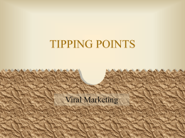 Tipping Points PPT