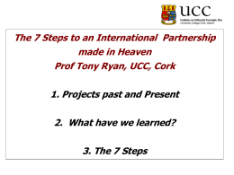 The 7 Steps to an International Partnership made in
