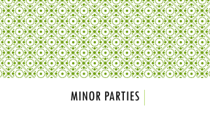 Minor Parties PPT