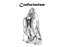 Section Four-Confucianism, Taoism and Shinto