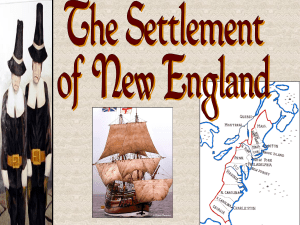 New England Colonization