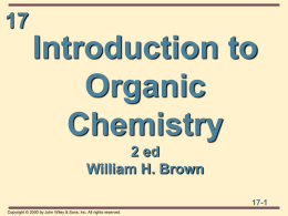 Introduction to Organic Chemistry 2 ed William H. Brown