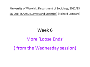 Week 6 Supplementary Powerpoint