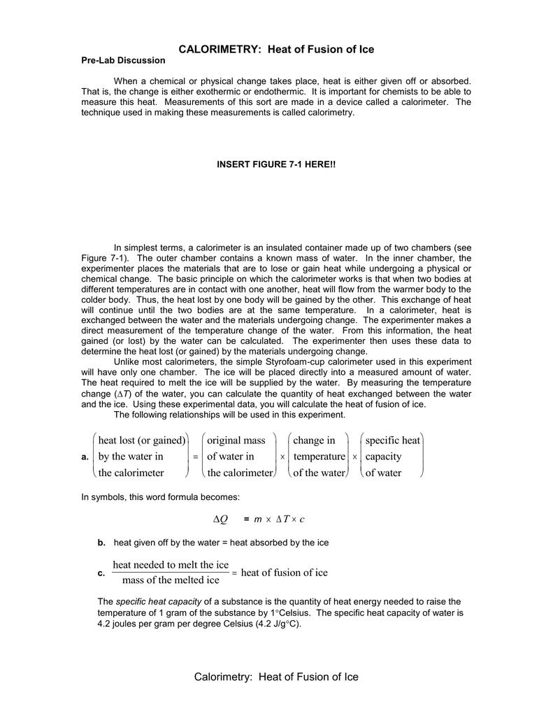 Calorimetry lab buycottarizona Image collections