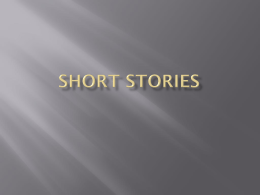 Short stories - Breathitt County Schools