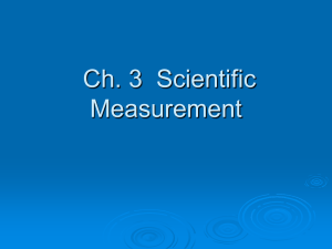 adv ch 3 measurement