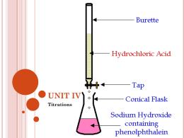 standardization of naoh and determination of molarity essay A standardization of naoh with potassium hydrogen  molarity of naoh (mol/l) (see  documents similar to lab 3 - titration of soda - citric acid.