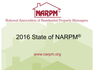 State of NARPM - National Association of Residential Property