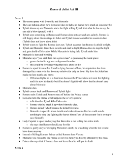 summary romeo and juliet act iii Romeo and juliet commentary provides a comprehensive description of each act with explanations and translations for all major quotes.
