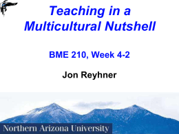 Week 4-2 Culture Powerpoint - Northern Arizona University