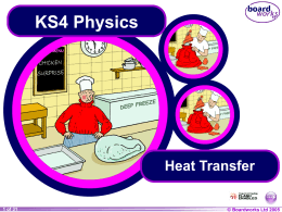 Energy - Heat Transfer