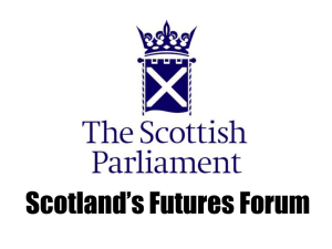 Drug Use and Harm - Scotland's Futures Forum