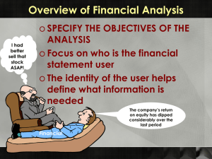 Financialanalysis