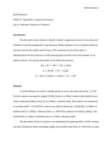 Iodometric and iodimetric titrations pdf