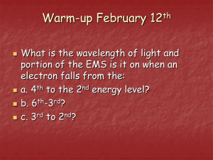 WARM-UP FEB. 9TH - MorgansChemistry