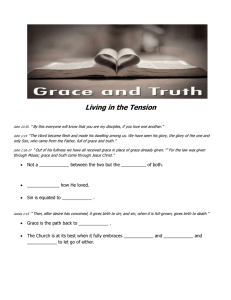 Living in the Tension - Hope Community Church