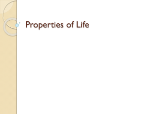 Properties of Life