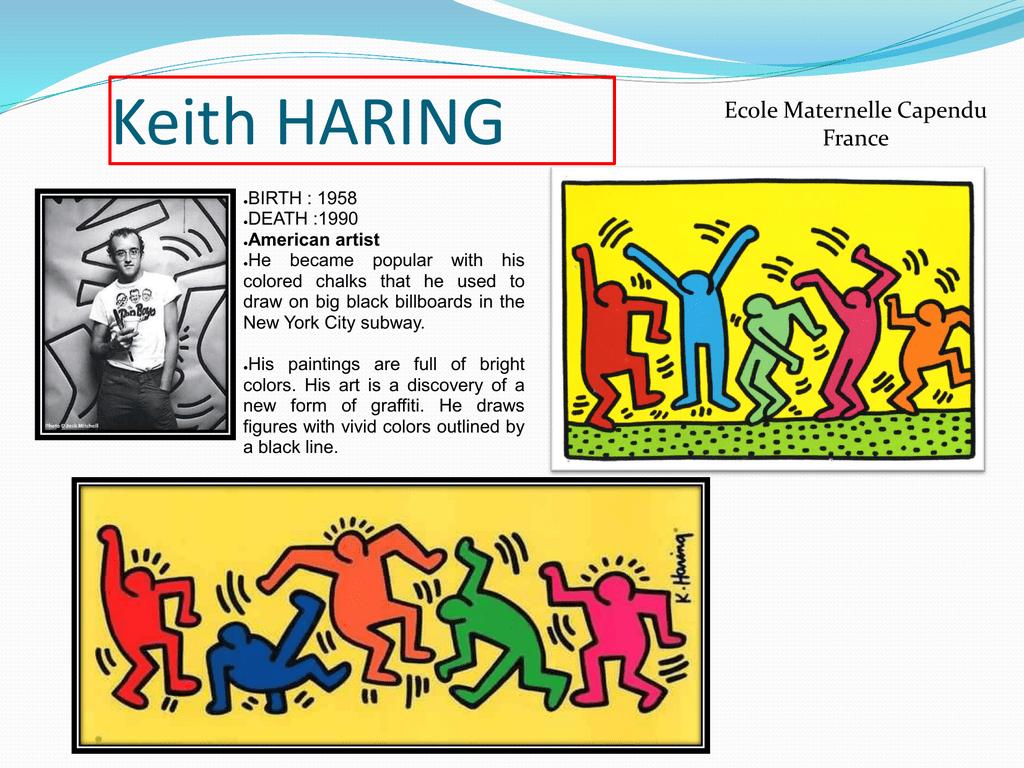 Keith HARING - Erasmus school
