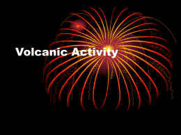 Volcanic Activity - Moyle Park College