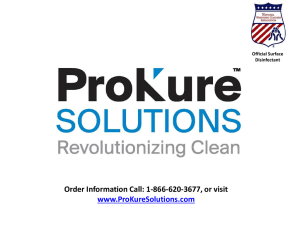 ProKure Athletics Power Point