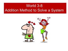 MSC_426-02_files/World 3-8 Addition Method to Solve a System