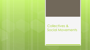 Collectives and Social Movements