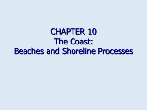 Chapter 10: The Coast: beaches and shoreline
