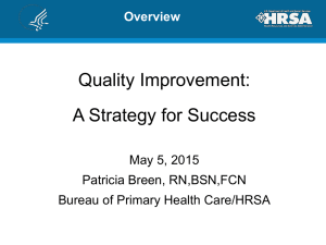 Quality Improvement - Indiana Primary Health Care Association