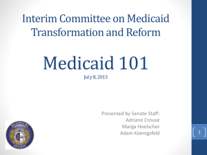 Medicaid1011 - Missouri Catholic Conference
