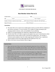 New Member Action Plan to 21