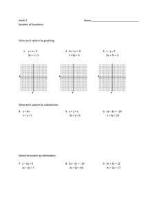 Quiz review worksheet