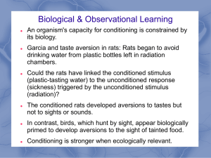 Module 22 Biology, Cognition, and Learning