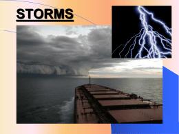 storms - pams