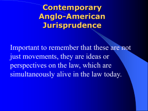 Contemporary Anglo-American Jurisprudence