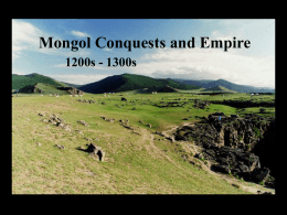 Mongol Conquests and Empire