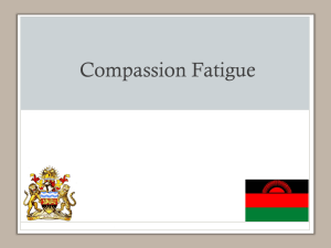 X. Compassion Fatigue