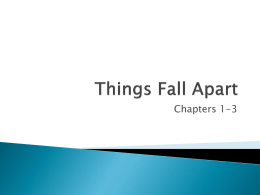 analysis on things fall apart Get help on 【 things fall apart literary analysis essay 】 on graduateway ✅ huge assortment of free essays & assignments ✅ the best writers things fall apart analysis in things fall apart, chinua achebe employs imagery, symbolism, and themes to reveal the story of okonkwo - things.