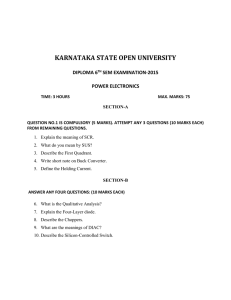 karnataka state open university diploma 6 th sem examination