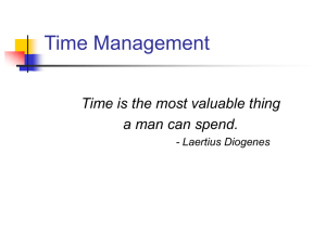 Top Time Management Mistakes