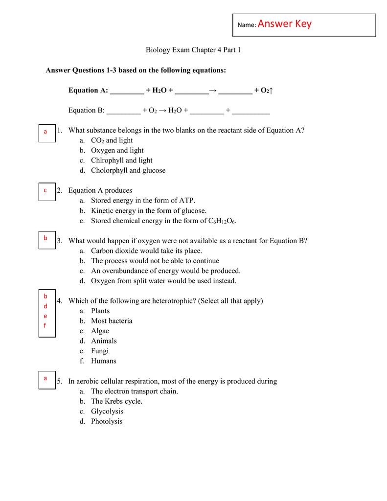 atp questions biology